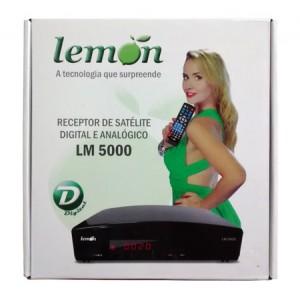 Receptor de Satélite Digital e Analógico Lemon LM 5000