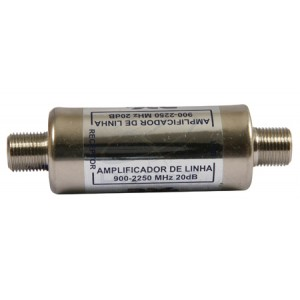 Amplificador de Linha Satélite 2OdB Proletronic