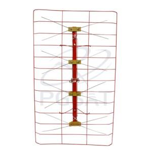 Antena Ext UHF Triax Vermelha