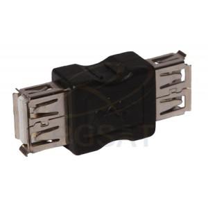 Emenda  USB Fêmea-Fêmea pcte c/ 10 pçs