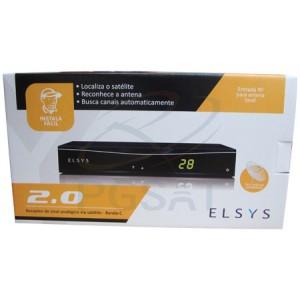 Rec Sin TV SAT Elsys 2.0 Preto