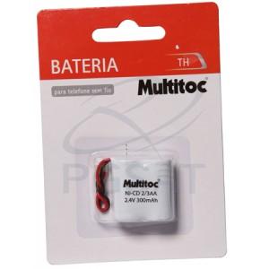 Bateria 2,4V 300 mAh