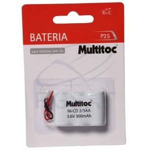Bateria 3,6V 300 mAh  AA