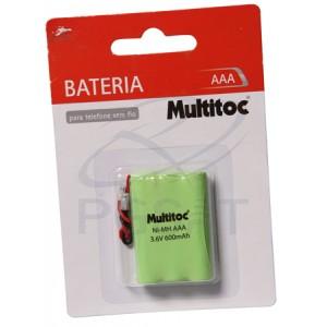 Bateria 3,6V 600 mAh AAA
