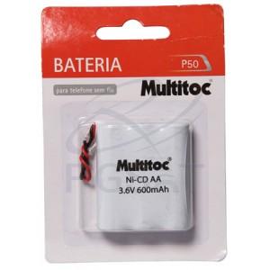 Bateria 3,6V 600 mAh AA