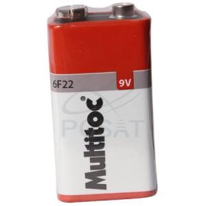 Bateria 9V Comum