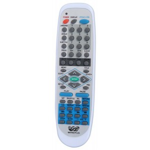 Controle DVD Britânia Matrix Plus Ctr 30501