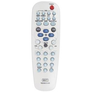 Controle TV Philips Prata