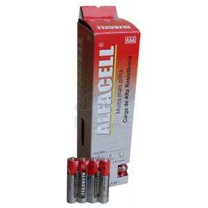 Blister com 60 Pilhas AAA Comuns - Conjuntos c/4