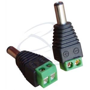 Plug P4 p/ Borne de Alimentação pcte c/ 10 pçs