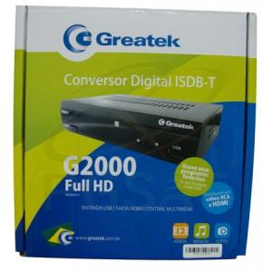 Conversor Digital Terrestre G2000 Greatek